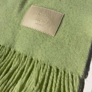 COACH | Green Cashmere Scarf